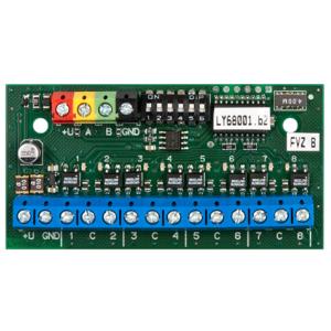 JA-118N/JB-118N八路弱电继电器输出模块